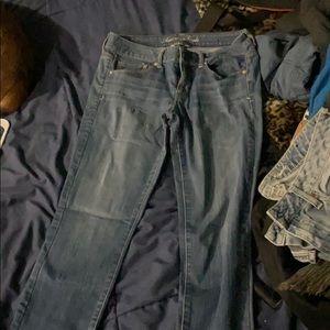 Sz 10 AE skinny super stretch jeans